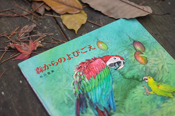 作/絵=市川里美『森からのよびごえ』BL出版